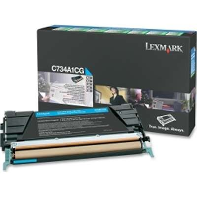 C734A2CG     Cyan Toner  6k - Product Image