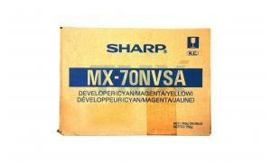 MX-70NVSA    Sharp Tri-Color Developers  3  Cyan,Magenta,Yellow - Product Image