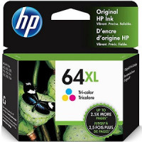 N9J91AN .. HP 64XL .. HIGH YIELD COLOR    414 AGES - Product Image