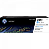 W2111X  206X   Hi Yield CYAN Toner Cartridge  Page Yield 2450 - Product Image