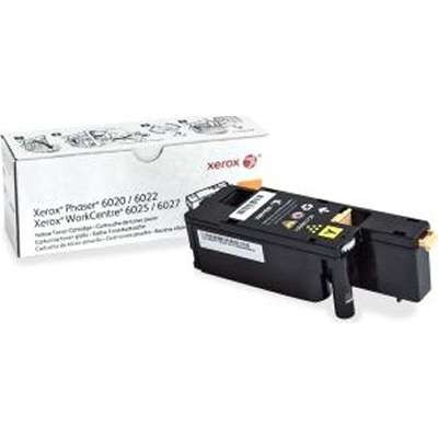 106R2758  Xerox Yellow toner   1k - Product Image
