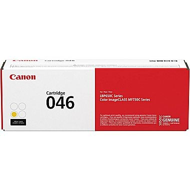 1247C001 Cartridge 046H ...  YELLOW  Standard Yield Toner2.3k - Product Image