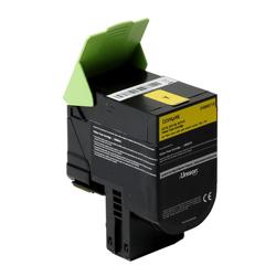 24B6010  Lexmark Yellow Toner  3k - Product Image
