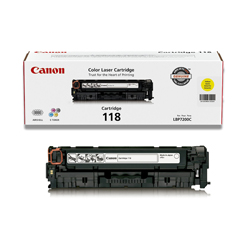 2659B001AA YELLOW TONER,CARTRIDGE 118 - Product Image