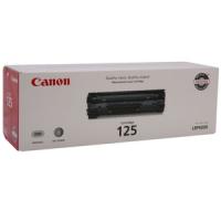 3484B001AA, Cartridge 125   Canon Black Toner - Product Image