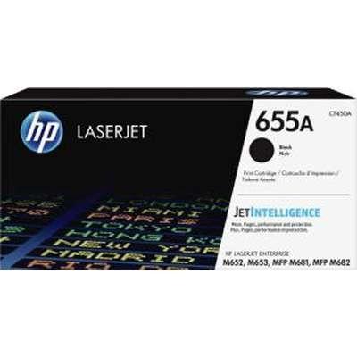 CF450A, HP 655A, BLACK Toner .....12,500 k - Product Image