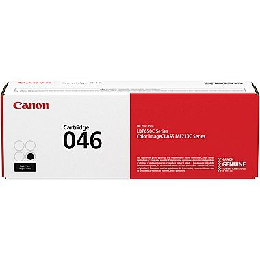1250C001,Cartridge 046     BLACK Standard   2.2k - Product Image