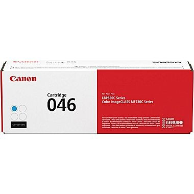 1249C001 Cartridge 046H ...   CYAN Standard Yield Toner2.3k - Product Image