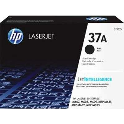 CF237A ..37A .. HP Black Toner ..Page Yield: 11k..The CF237X will not fit into a M607  - Product Image