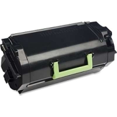 62D1H00    Lexmark BLACK High Yield Toner  25k - Product Image