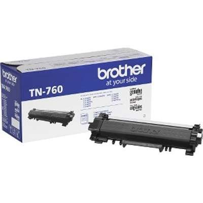 TN-760 TN760     Brother Black Toner High Yield   3k - Product Image
