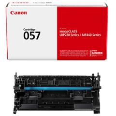 3009C001 .. 057   CANON Black Toner Cartridge.. Page Yield 3100 - Product Image