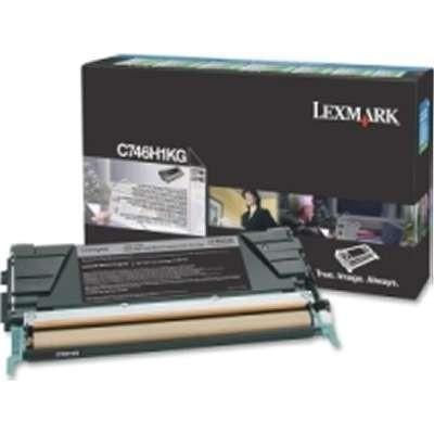 C746H1KG      Lexmark  Black Toner  HiYield  12k - Product Image