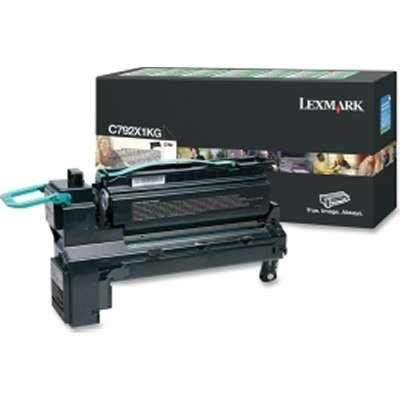 C792X1KG  Black Toner High Yield 20k - Product Image