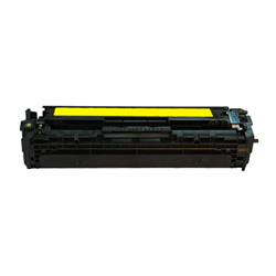 CE322A Hewlett Packard Compatible   Made in USA  Yellow Toner Cartridge - Product Image