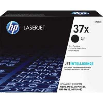 CF237X ..37X.. HP Black Toner  Page Yield: 25k..(The CF237X will not fit into a M607 ) - Product Image