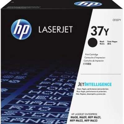 CF237Y..37Y.. HP Black Toner  Super-High Yield  ..Page Yield: 41k - Product Image