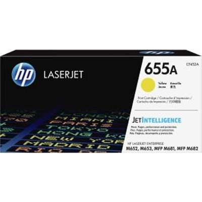 CF452A, HP 655A, YELLOW Toner .....10,500 k - Product Image