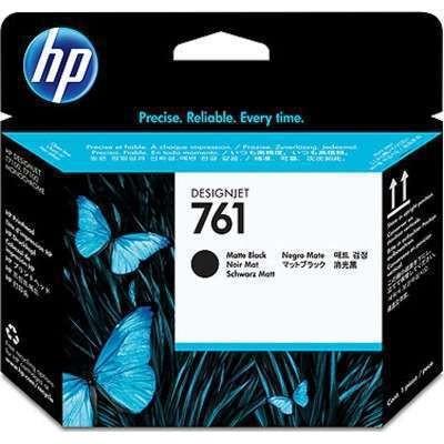 CH648A #761 ... HP Matte Black Printhead - Product Image