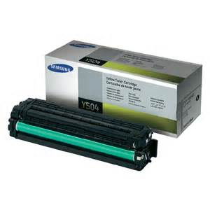 CLT-Y504S    Yellow Samsung Toner 1.8k - Product Image