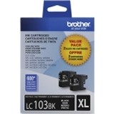 LC1032PKS   Brother 2/Pack    Black Inkjets - Product Image