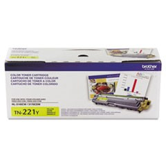 TN221Y   Brother Yellow Toner   1.4K - Product Image