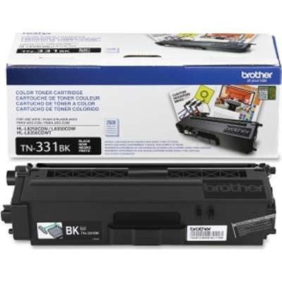 TN331BK   Brother Black Toner 2.6k - Product Image
