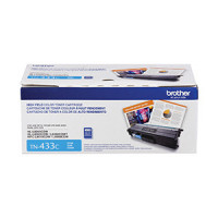 TN433C   Brother CYAN Toner   High Yield  1.8 K - Product Image