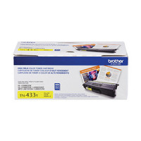 TN433Y  Brother YELLOW Toner High Yield  4000 k - Product Image